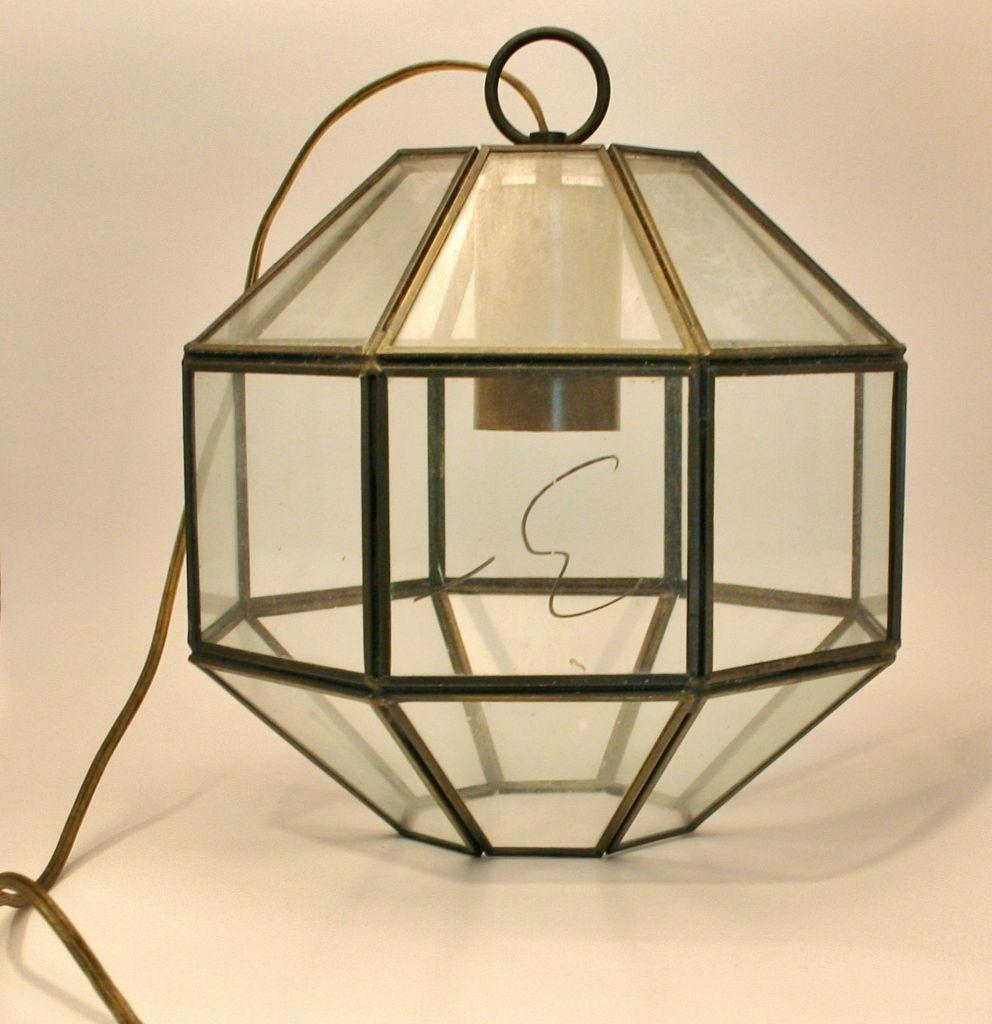 Pendant light turned terrarium lamps idea pinterest pendant