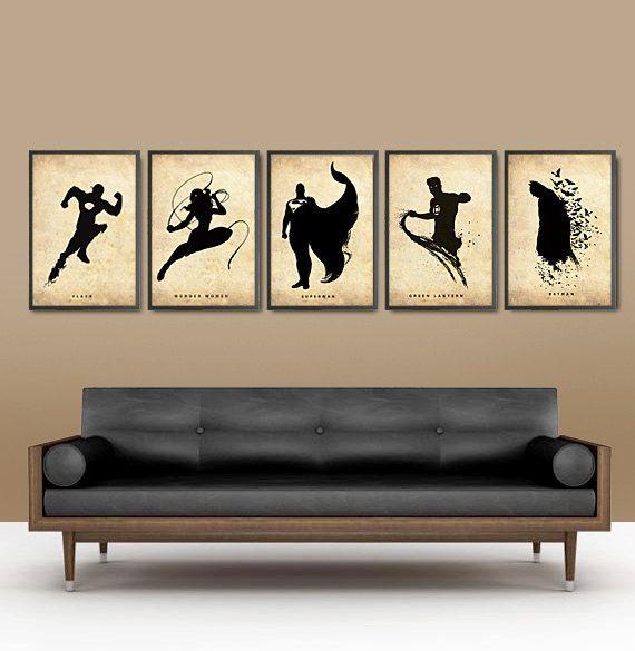 pin von jazz man auf mixed design superman deko und. Black Bedroom Furniture Sets. Home Design Ideas