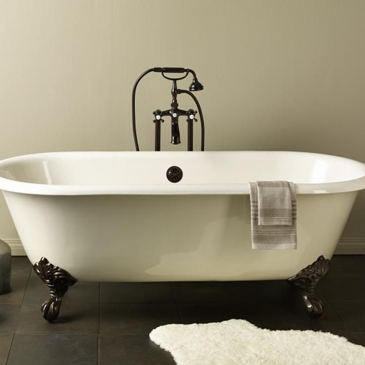 Beautiful Learn More About Cheviotu0027s Clawfoot Bathtubs, Featuring Our REGAL Cast Iron  Clawfoot Bath.