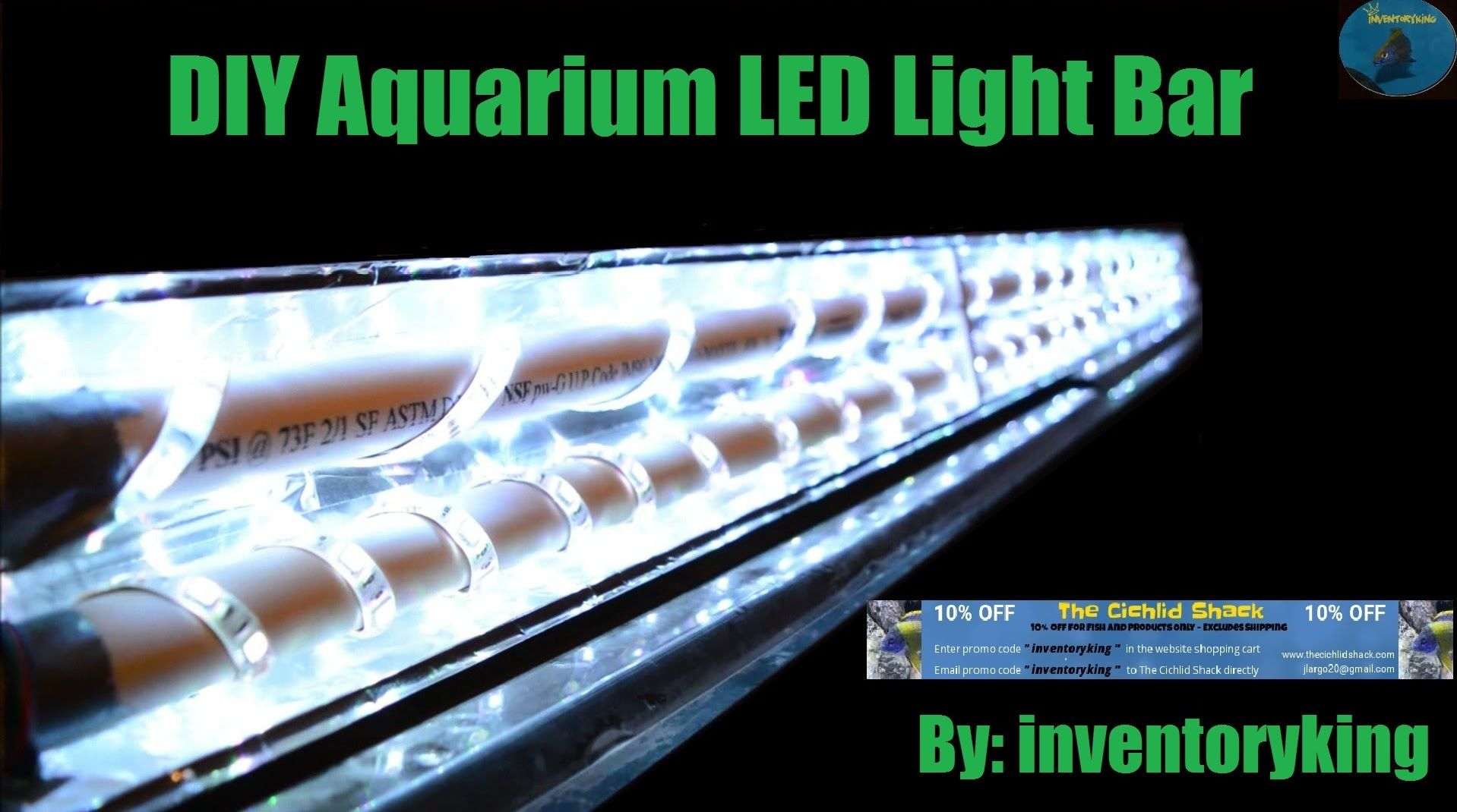 How To Diy Aquarium Led Light Bar Inexpensive Fully
