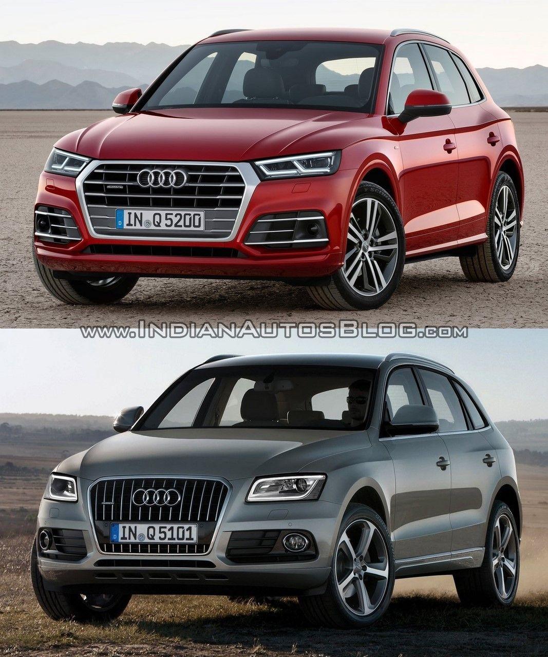 2017 Audi Q5 Vs 2013 Audi Q5 In Images Audi Q5 Audi Automobile