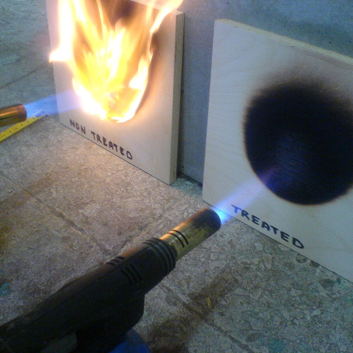 Fire Retardant For Complete Wood Protection Holz Prof Ou Wood Protection Fire Retardant Types Of Timber