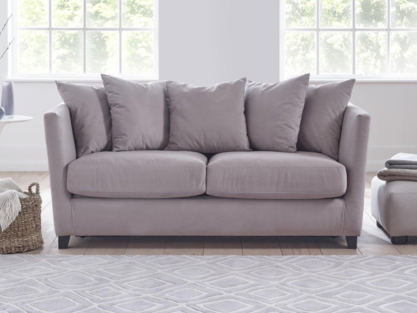 Esme Sofa Bed Contemporary sofa by day, that transforms in