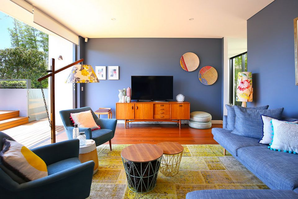 Find Mid Century Modern Living Room Reddit To Inspire You Blue And Orange Living Room Living Room Orange Blue Living Room