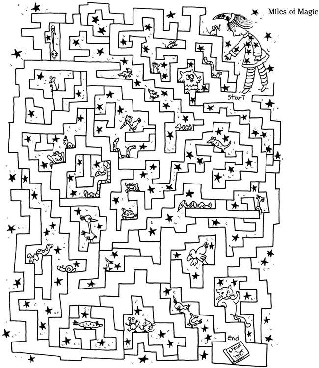miles of magic maze   Atención y memoria   Pinterest