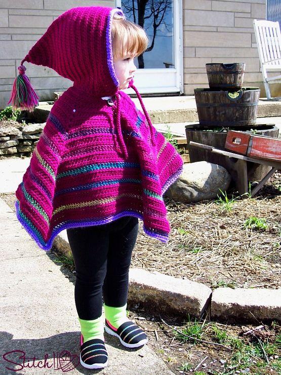 Stitch11 free crochet poncho pattern | DIY and crafts | Pinterest ...