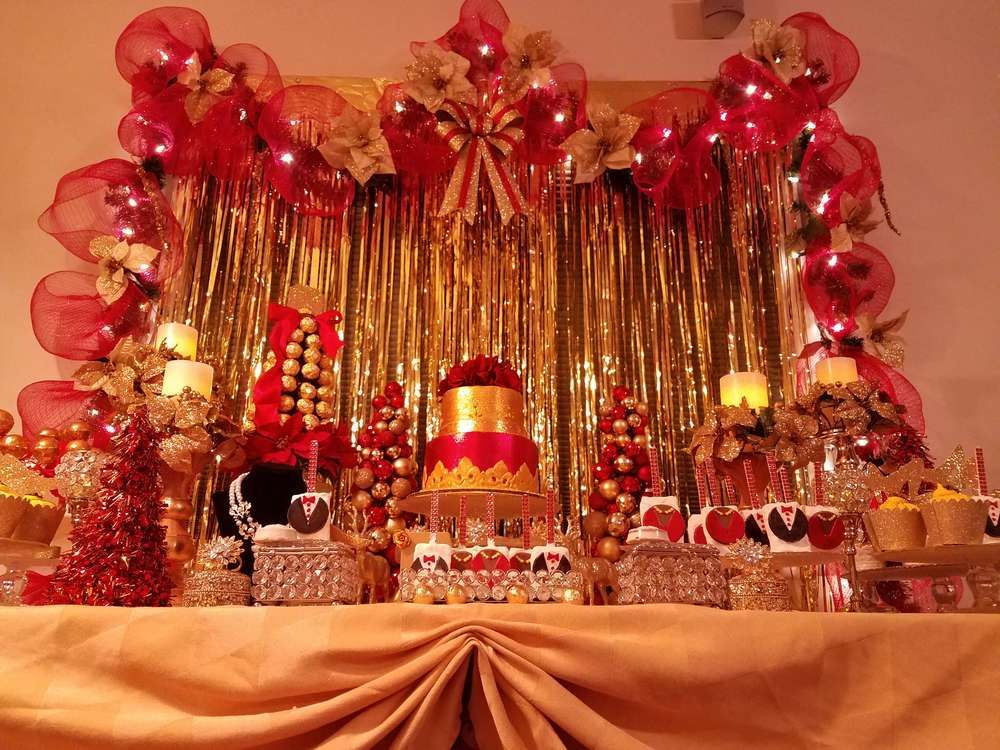 Red And Gold Birthday Decorations  from i.pinimg.com
