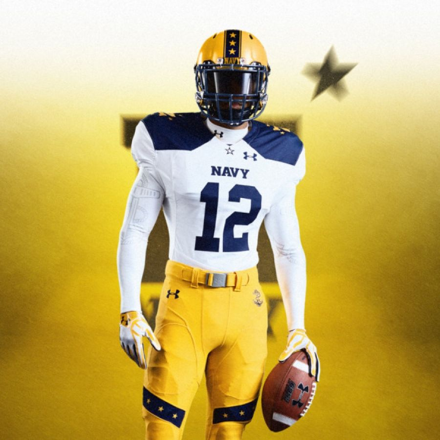 Naval Academy's Army-Navy game uniforms a throwback to 1963   Navy ...