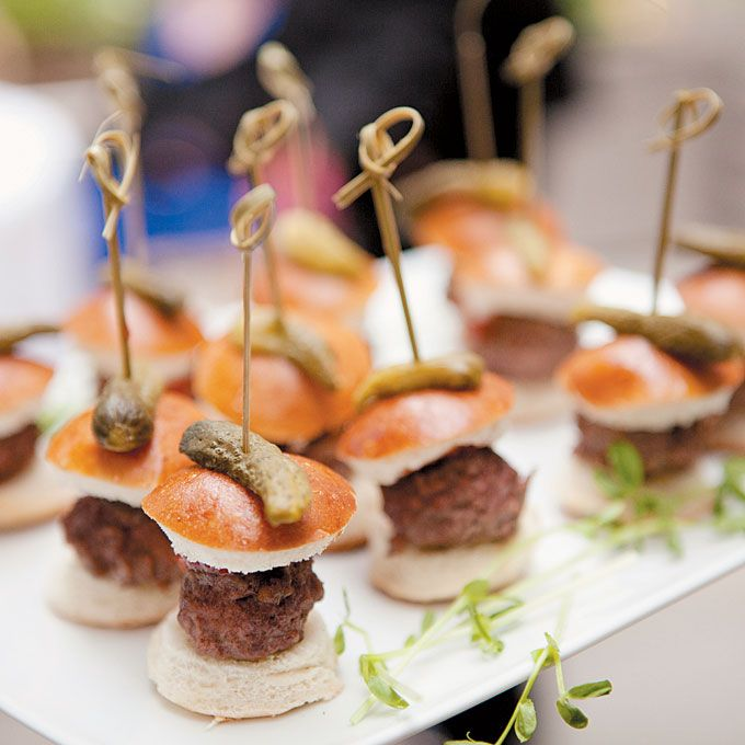Fall Wedding Finger Foods: Sophisticated Wedding In Manhattan