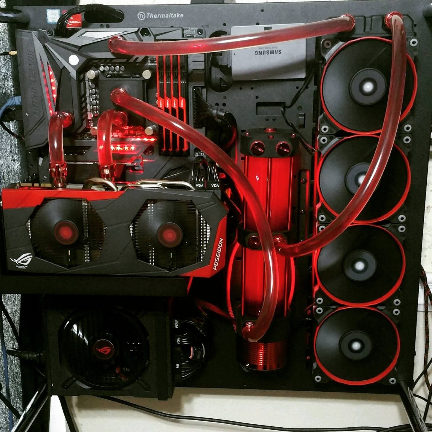Water Cooling Custom Computer Computer Build Gaming Pcs