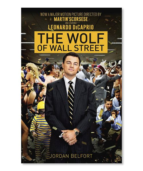 look at this the wolf of wall street tie in paperback on on wall street today id=75544