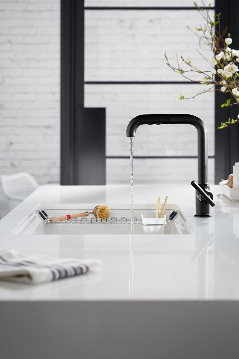 Lofty Living Kitchen Kitchen Interior Design Modern Silestone