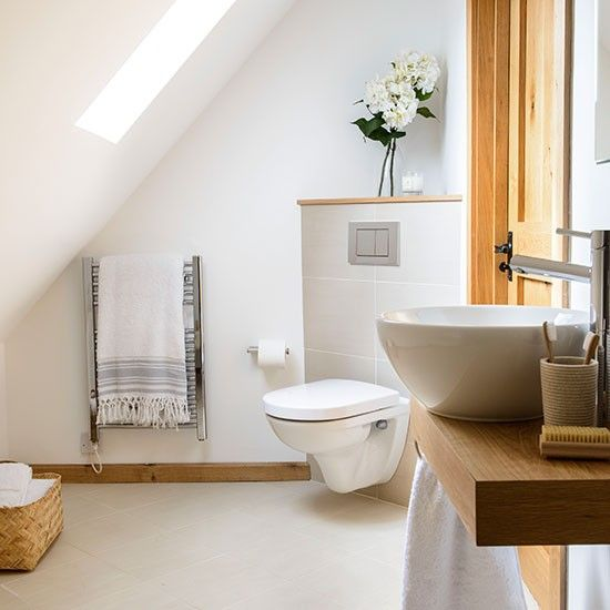 Optimise Your Space With These Smart Small Bathroom Ideas  Attic Prepossessing Small Bathroom Spaces Design Design Decoration
