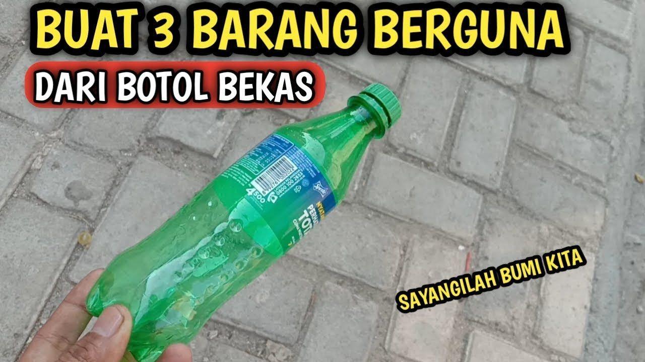 3 Ide Kreatif Dari Botol Bekas Yang Wajib Kalian Coba3 Ide Kreatif Dari Botol Bekas Yang