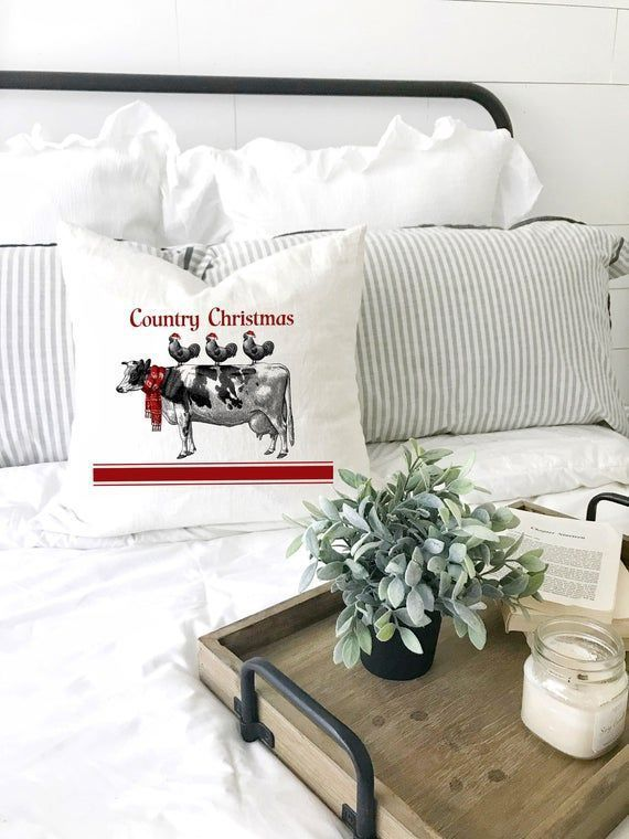 Country Christmas Pillow Cover : Country Christmas Pillow Cover : Country Christmas Pillow Cover : Country Christmas