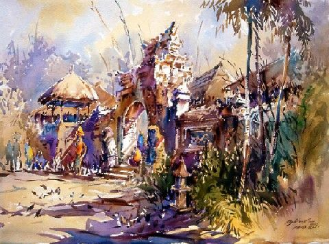Watercolor Gallery Singapore Best Watercolor Art Gallery Art