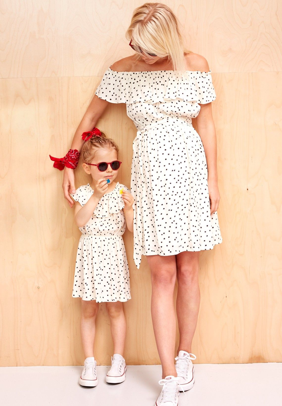 cb19bea848f6e Robe assortie mère/fille : Laure - Robe Maman - Envie de Fraise ...