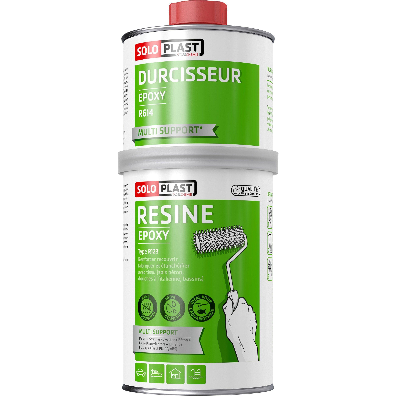 Resine Epoxy Soloplast 1kg Resine Epoxy Epoxy Et Resine