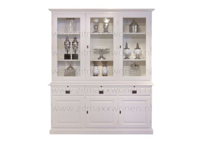 Zitmaxx wonen kasten buffetkast glaskast vineyard richmond interiors pinterest interiors - Muur hutch ...