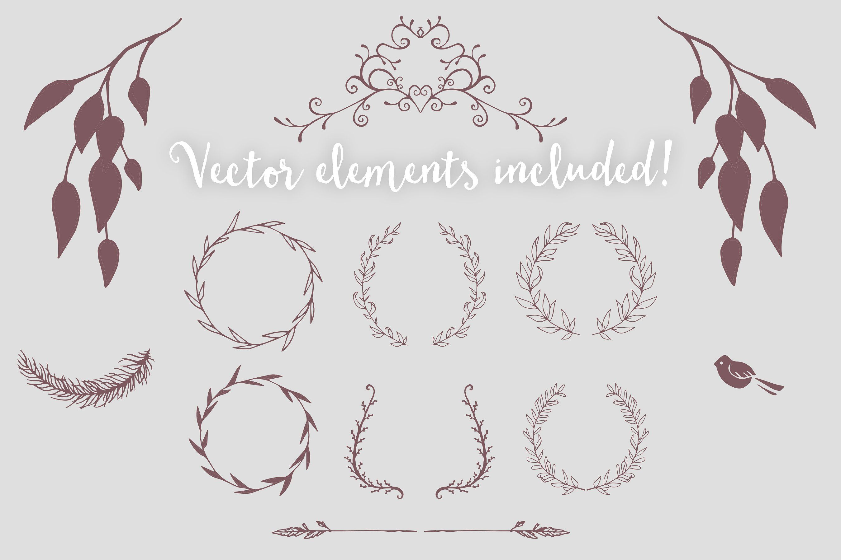 the ultimate wedding collection invitation templates rsvp and