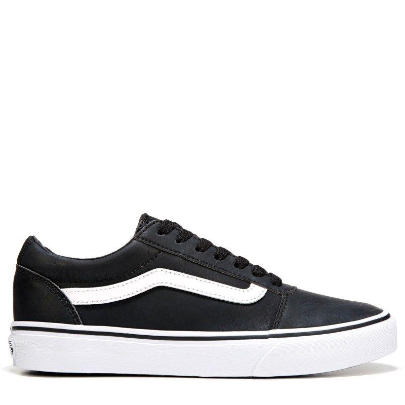 vans ward low black