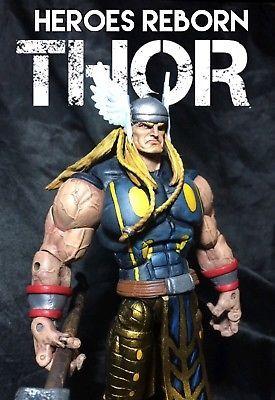 Custom Marvel Legends/DC universe THOR HEROES REBORN in Toys