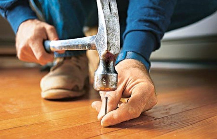 Five easy flooring fixes make stains disappear if