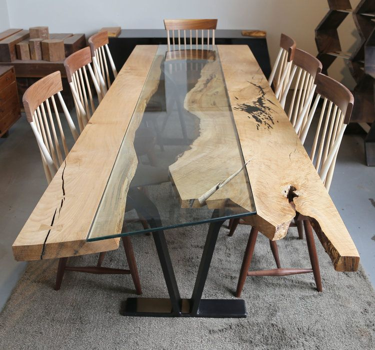 Colorado Live Edge River Dining Table Table Dining Table Live Edge Table