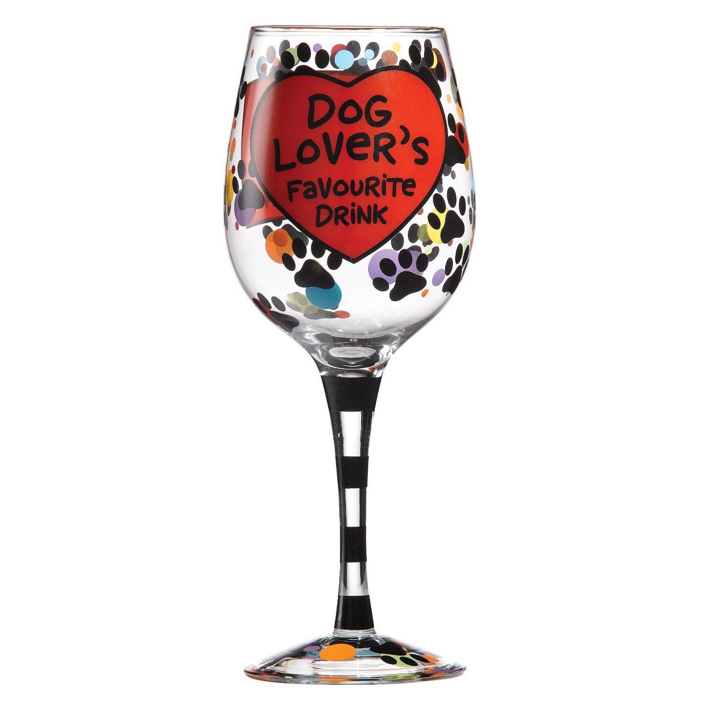 Enesco A27111 Bicchiere Da Vino Con Messaggio In Inglese Per Gli