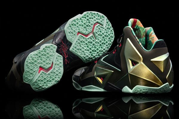 Nike Lebron XI 11 South Beach Sport Turquoise Green Black Pink