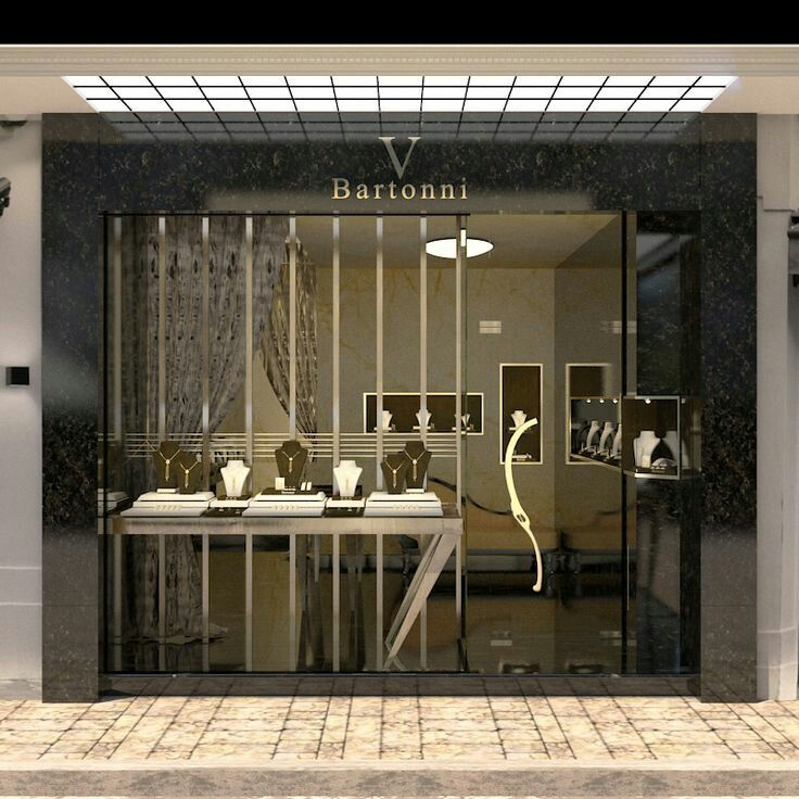 Shop Design: Jewellery Retail Store Front And Window Display Design