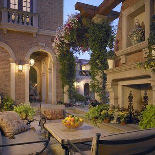 Landscape | Fancy living rooms, Mediterranean home decor ... on Fancy Outdoor Living id=83088