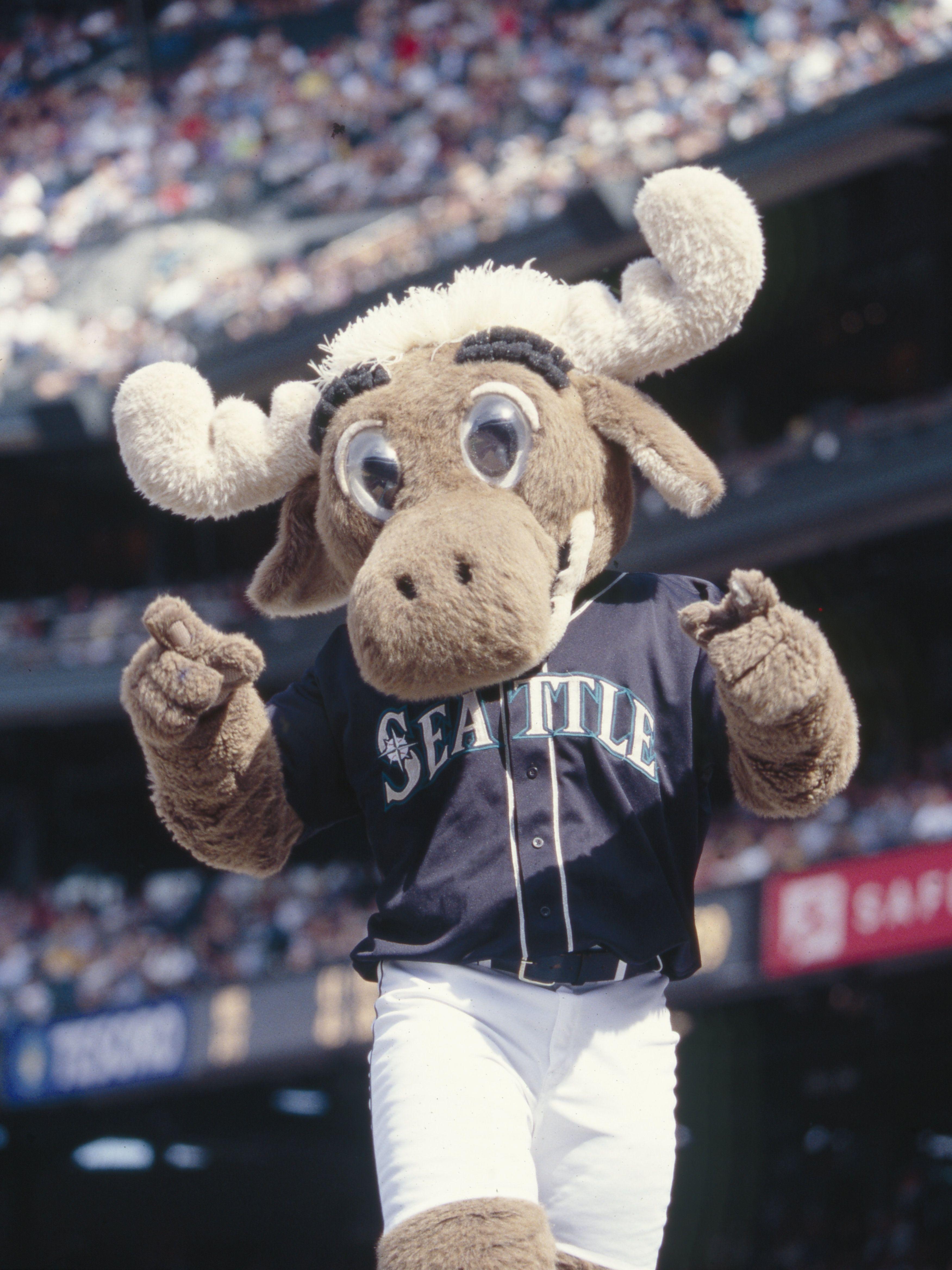 Mariner Moose Mascot 1990 Present Seattle Mariners Baseball Seattle Sports Mariners