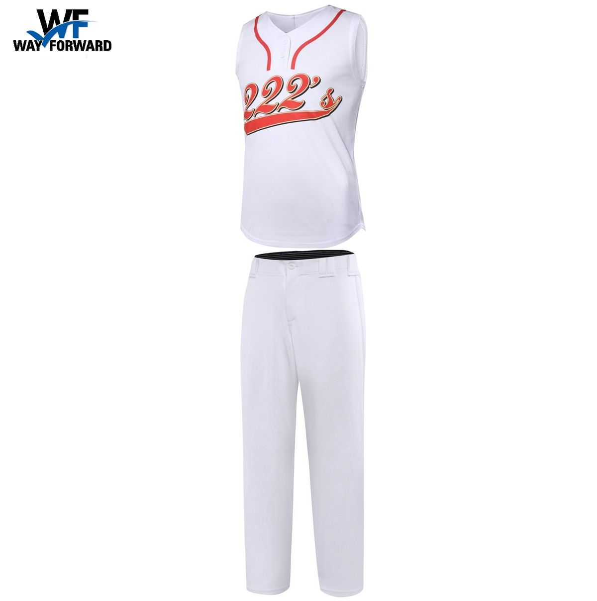 Factory Direct Price Click To Get Price List Short Sleeve And Sleeveless Baseball Uniform Options 2 Butto Training Clothes Team Wear Youth Baseball Uniforms