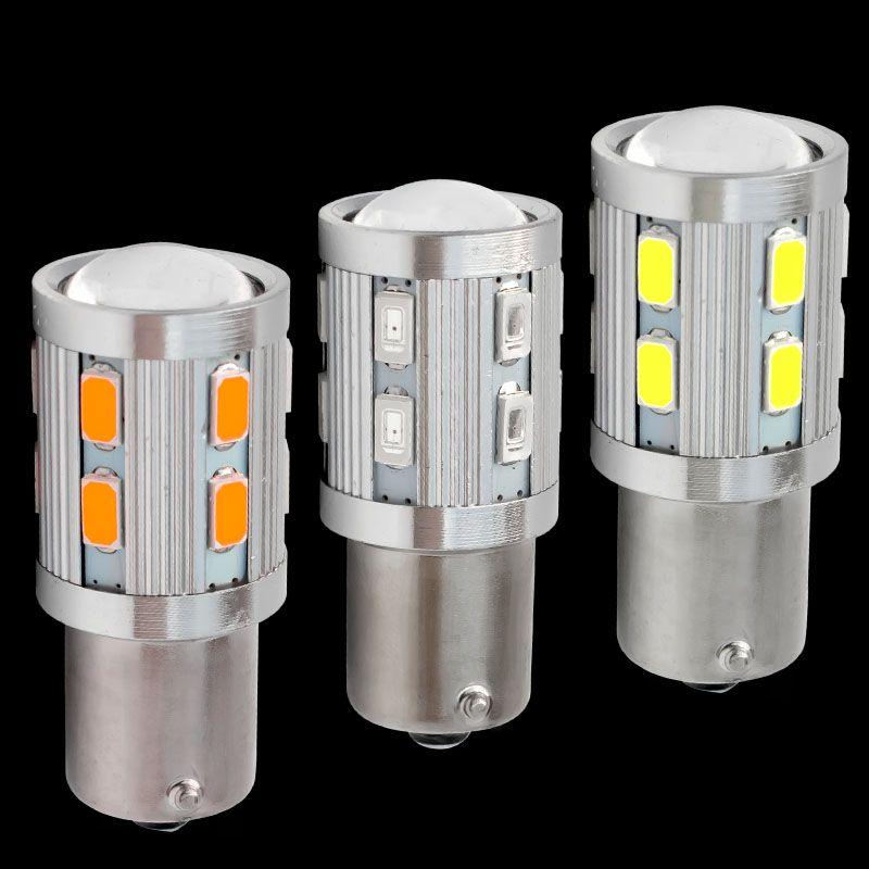 P21w 1156 Ba15s 7506 R5w R10w 5630 5730 Led Voiture Lampe De Frein Ampoule Inverse Automatique Clignotant Stationnement Drl Feux De 12 V Running Lights Led Bulb
