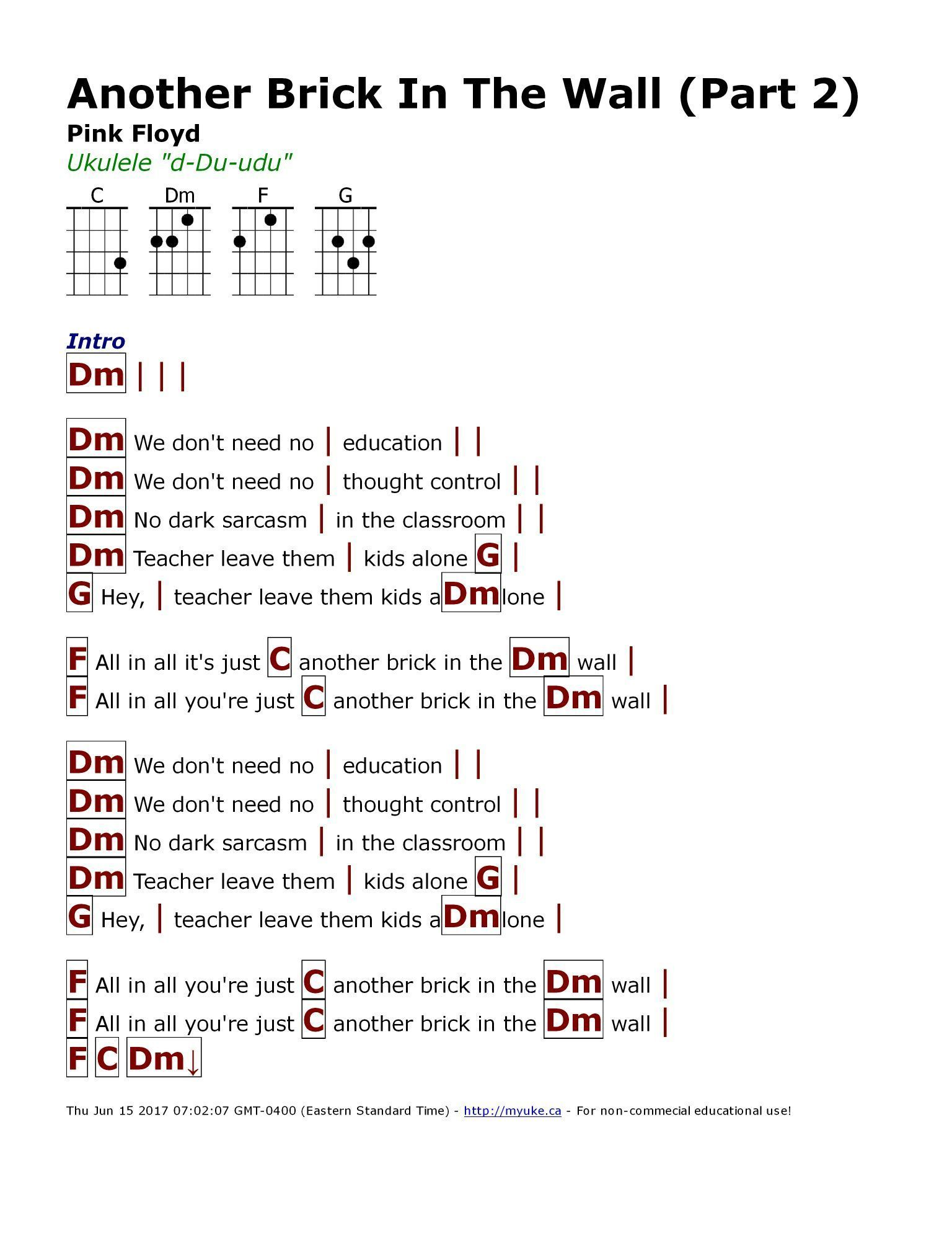 Pin By Anika On Music Guitar Chords For Songs Ukulele Ukulele