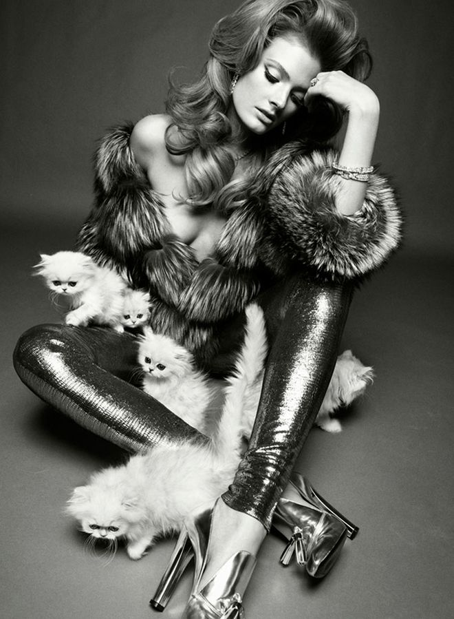 Constance Jablonski for Vogue Italia (2011)