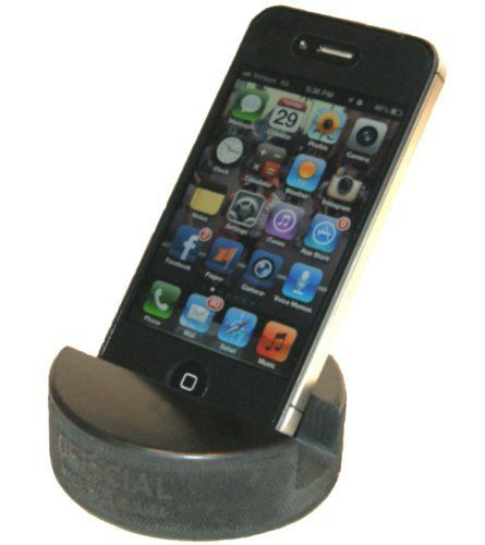 Compatible for All iPhone//Samsung//Google//LG Smartphones Made from a Real Hockey Puck. The Best Universal Smartphone Stand PUCKUPS 4 Pack The Original Indestructible Hockey Puck Phone Stand