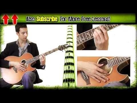 Guitar Lesson Adele Set Fire To The Rain Acoustic Tutorial | Guitar ...