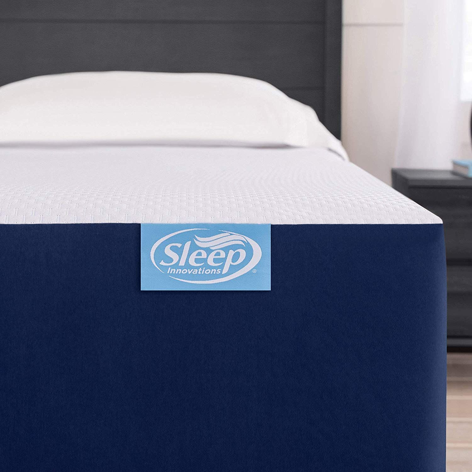 Sleep Innovations Marley 10 Inch Cooling Gel Memory Foam Mattress Bed In A Box Petagadget In 2020 Bed Mattress Memory Foam Foam Mattress Bed Box Bed