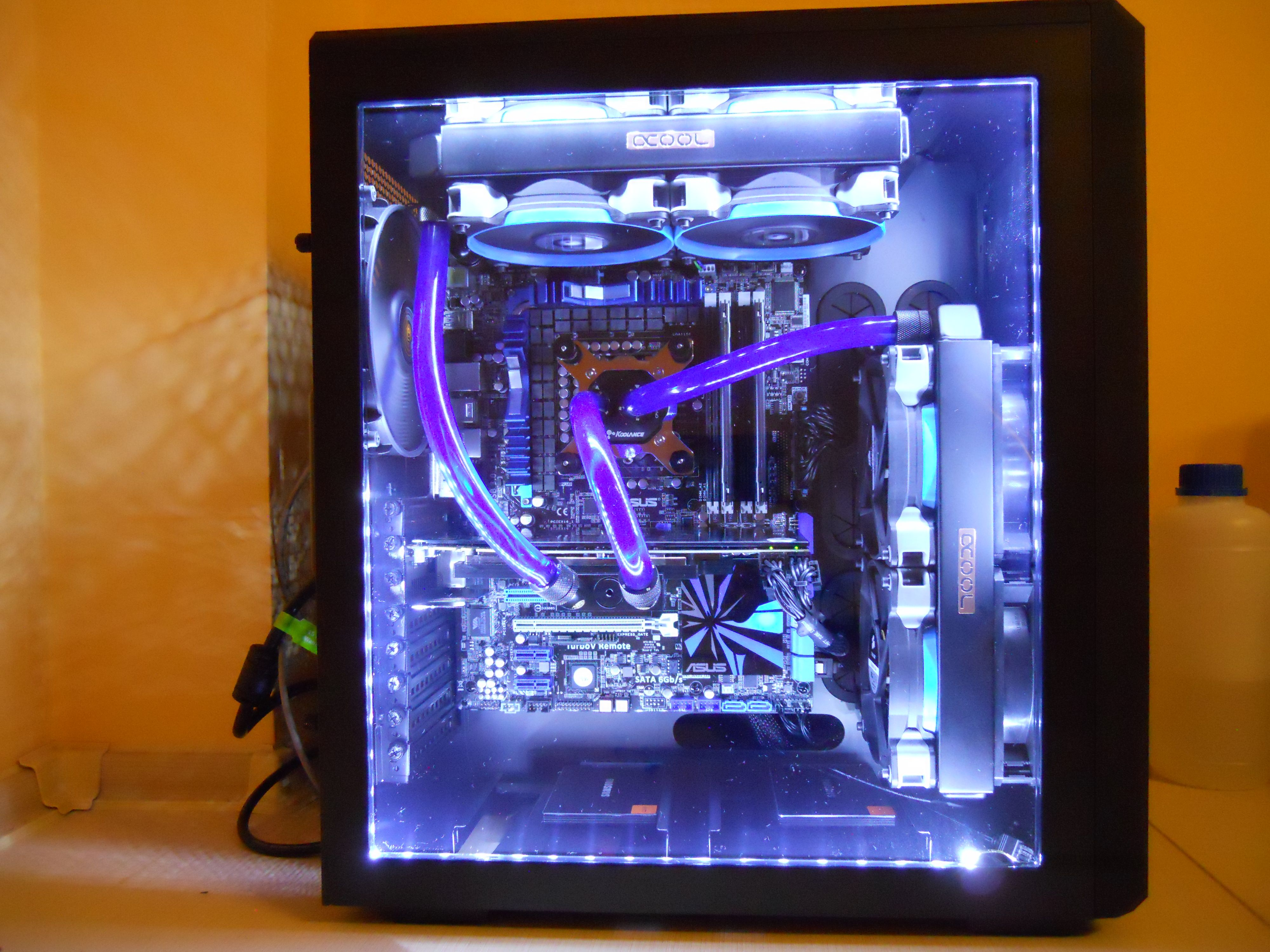 Corsair Carbide 540 Watercooled Pc Pinterest Light Up Circuit Board Lamp Neatorama Computers Gaming Videogames Games