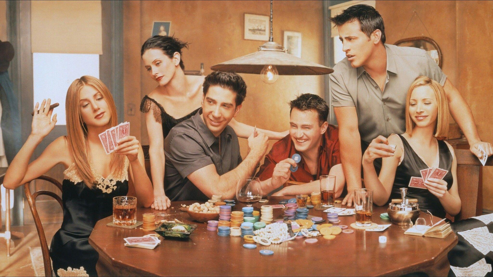 Friends-photoshoot. 1994-2004
