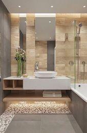 Photo of Erfrischende 98 wunderbare Badezimmer-Ideen Beige #Bathroom #Remodel #Bathtub   …