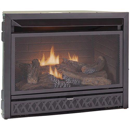 26 000 Btu Vent Free Fireplace Insert Dual Fuel At Menards Need