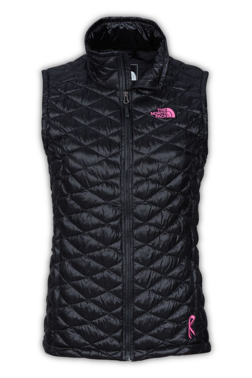 473435c479b7 The North Face Women s Pink Ribbon Thermoball Vest. We ve teamed up with  Boarding For Breast Cancer and other organizations like it