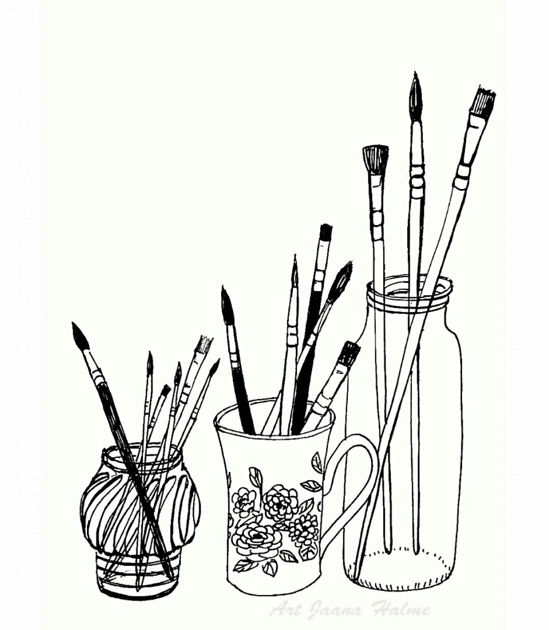 Learn Basic Stylized Line Drawing From One Of Today S Most Sought After Artists In This Four Part Course Lisa Covers The Doodle Art Art Inspiration Line Art