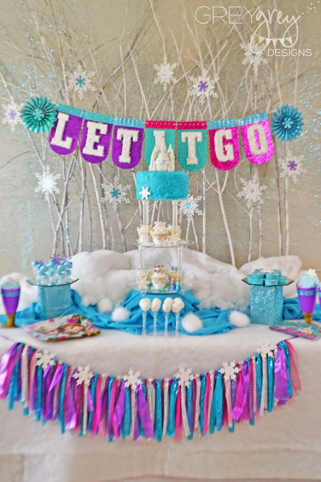 GreyGrey Designs Frozen Party For Evite And Birthday Express