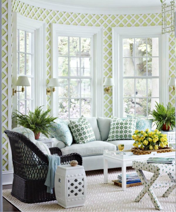Mix and Match 101   Sunroom, House beautiful and Room