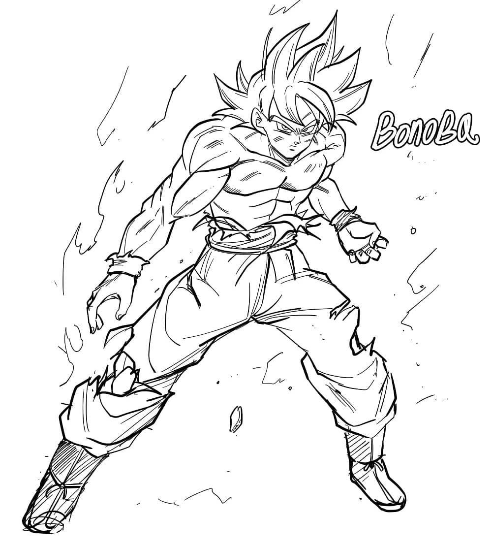 Bonobq On Instagram Quick Doodle Sketch Drawing Dragonball Fanart Manga Anime Dragon Ball Artwork Sketches Dragon Ball Super