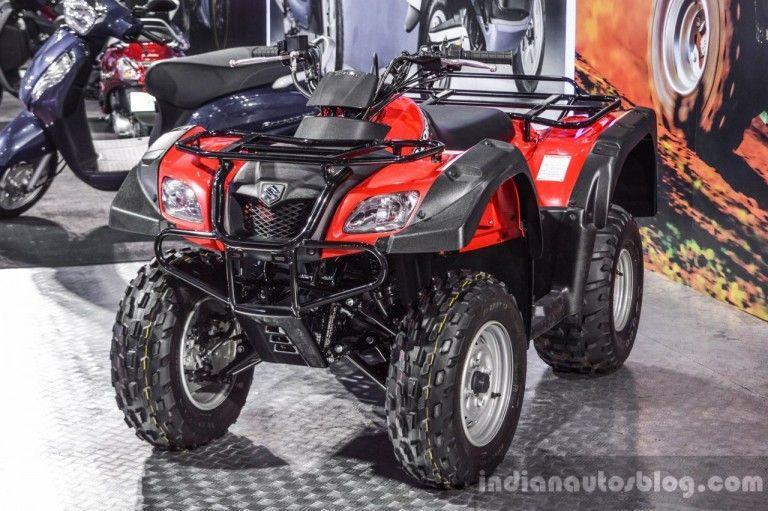 Suzuki Ozark 250 Suzuki QuadSport Z400 Auto Expo 2016